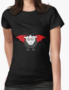 Vampire Grover Goat Womens Fitted T-Shirt