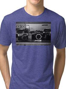 Broken cameras Tri-blend T-Shirt