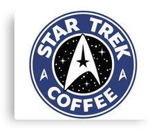STAR BUCKS | STAR TREK | COFFEE Canvas Print