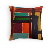 Abstract Painting by Scott Johnson Throw Pillow