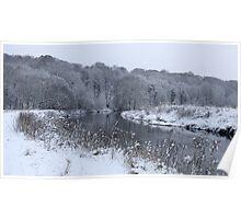 River Darwen, Walton le Dale Poster