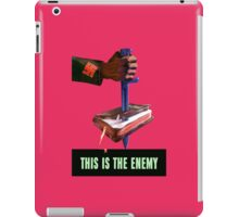 This Is The Enemy -- World War 2 iPad Case/Skin