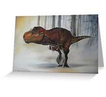 NASPOLINIS' TREX Greeting Card