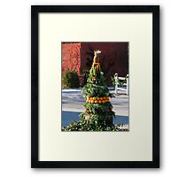 Holiday Welcome Framed Print