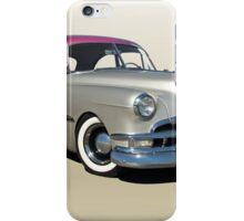 1951 Pontiac Chieftain 'Mild Custom'  iPhone Case/Skin