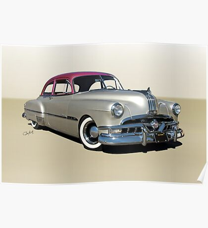 1951 Pontiac Chieftain 'Mild Custom'  Poster