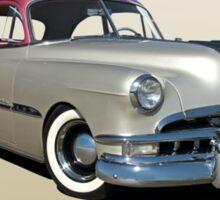 1951 Pontiac Chieftain 'Mild Custom'  Sticker