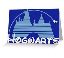 Hogwarts castle Greeting Card