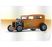 1928 Ford HiBoy Sedan Poster