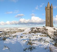 Snow Scrabo by blueguitarman