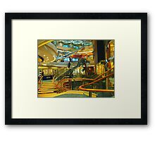 Four Floors of Lights and Sparkles Framed Print