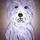Wee Jock - West Highland White Terrier by Trish Loader
