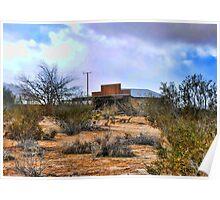 High Desert Shed Poster