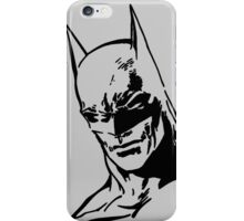 DC Batman - Minimal Figure iPhone Case/Skin