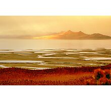 Impressions of Great Salt Lake  Photographic Print