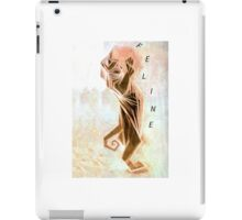 FELINE-Abstract Cat 1 iPad Case/Skin