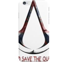 Assassin's Creed God save de queen iPhone Case/Skin