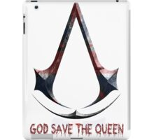 Assassin's Creed God save de queen iPad Case/Skin