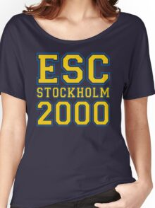 ESC Stockholm 2000 [Eurovision] Women's Relaxed Fit T-Shirt