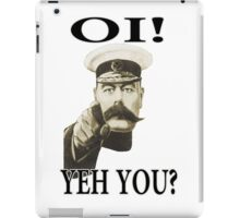oi! yeh you iPad Case/Skin