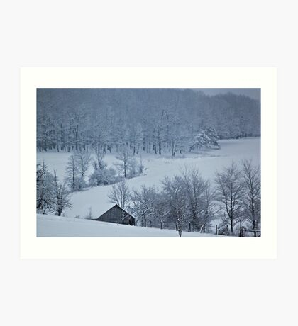 a Winter Wonderland Art Print