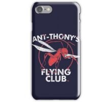 Ant Flying Club iPhone Case/Skin