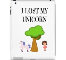 I lost my Unicorn iPad Case/Skin