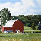 Michigan Barn #1 by Michael Ward