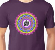 Rangoli Ganesh Mandala Unisex T-Shirt