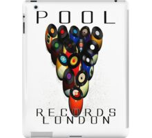 Pool Records London iPad Case/Skin