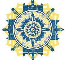WVU Mandala by austronaut