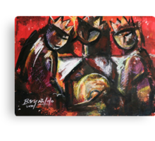 Thres Reyes Canvas Print