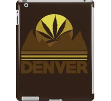Denver Colorado Marijuana  iPad Case/Skin