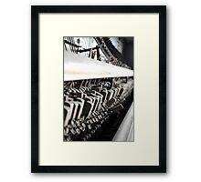 Piano Guts Framed Print