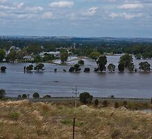 The Riverina in Flood 2010 by Andrew Harris