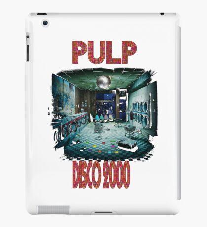 pulp disco 2000 iPad Case/Skin