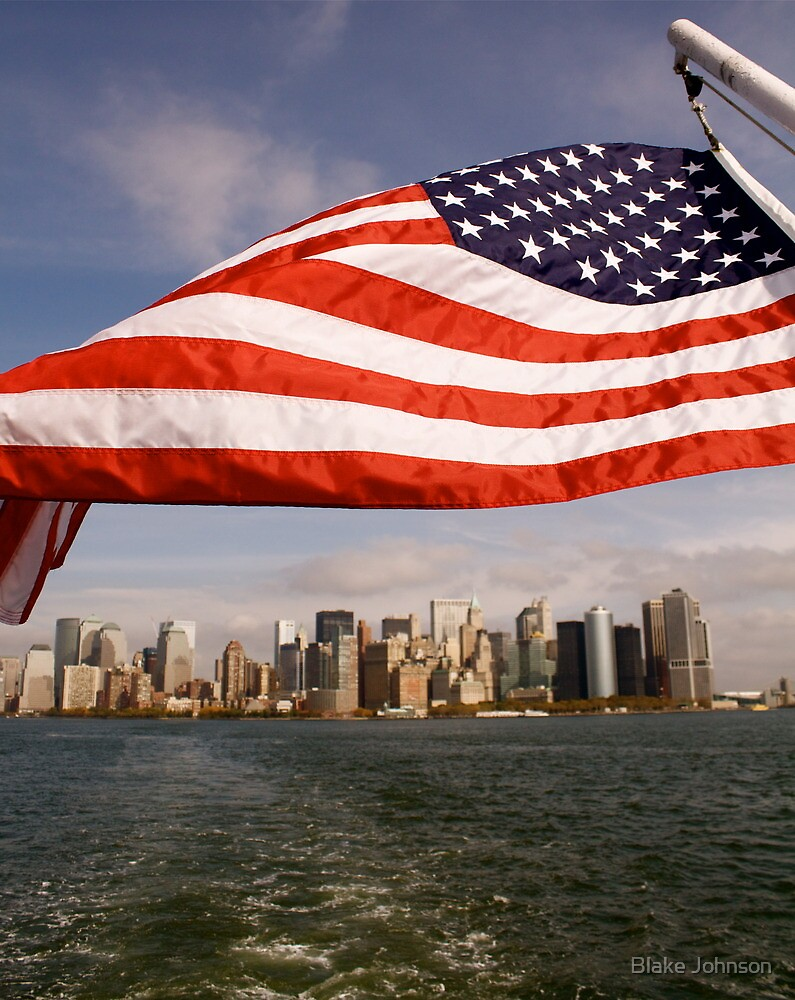 Flag Bearer - NYC by Blake Johnson