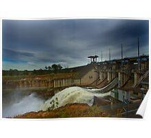 Wivenhoe Dam Poster