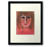 Pink Lady Framed Print