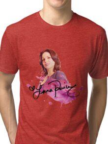 Lana Parrilla / Autograph  Tri-blend T-Shirt