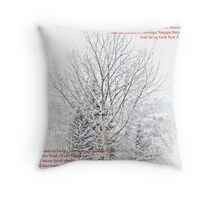 Merry Christmas 2010 & Happy New Year 2011 Everyone Throw Pillow