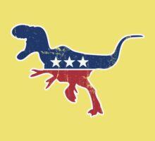 Retro Dinosaur politics Kids Clothes