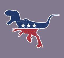 Retro Dinosaur politics Kids Tee