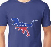 Retro Dinosaur politics Unisex T-Shirt