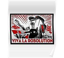 Borderland - Clap Trap Viva la Robolution Poster