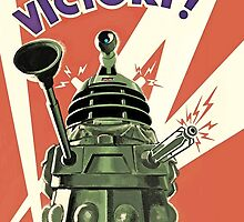 Doctor Who - Daleks to the Victory by emapremo