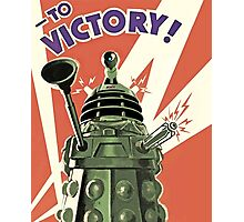 Doctor Who - Daleks to the Victory Photographic Print