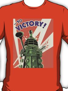 Doctor Who - Daleks to the Victory T-Shirt