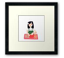 Baking~ Framed Print