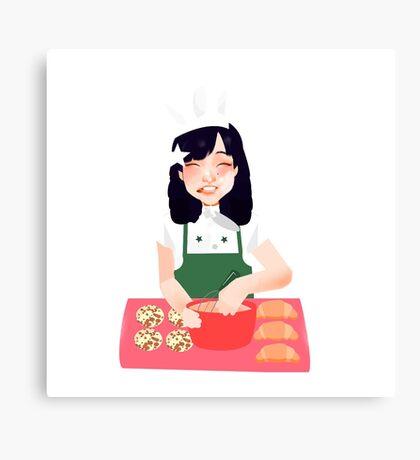 Baking~ Canvas Print